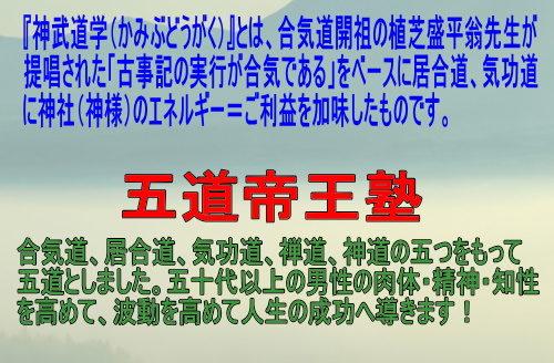 会員制【合気道五道帝王塾】オンラインサロン